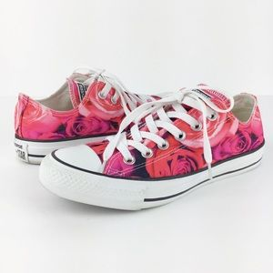 Converse Chuck Taylor All Star Rose Print Sneakers